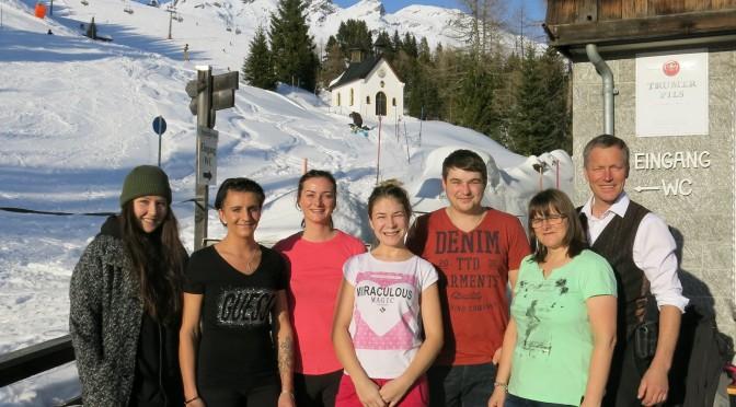 Unsere tolle Mannschaft in diesem Winter